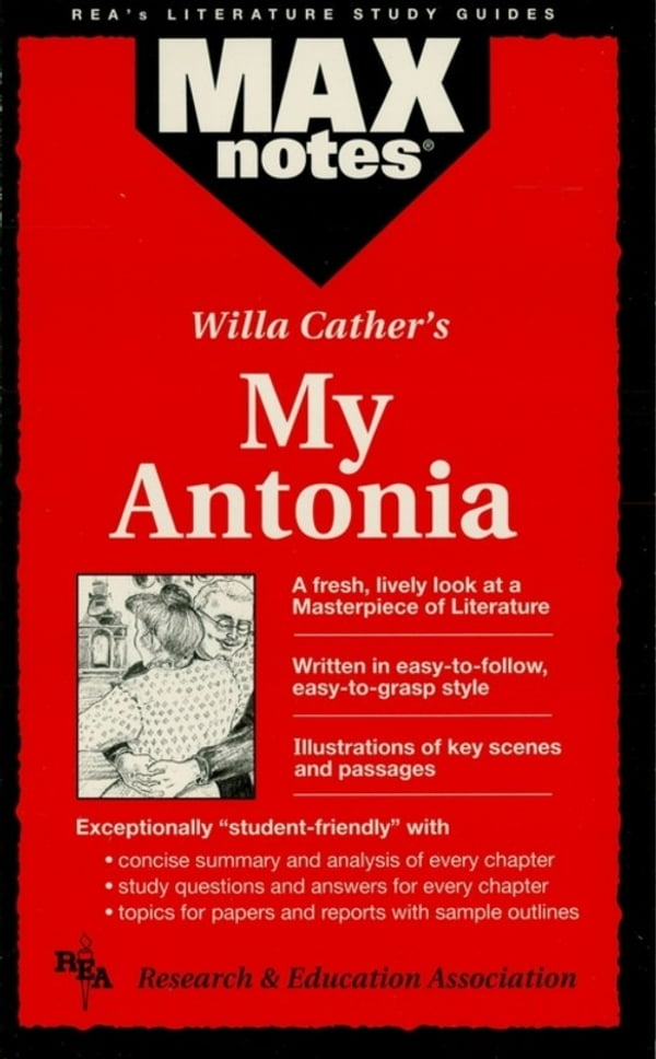 my antonia outline Read my antonia by willa cather by  of the author's life and work a timeline of significant events that provides the book's historical context an outline of key.