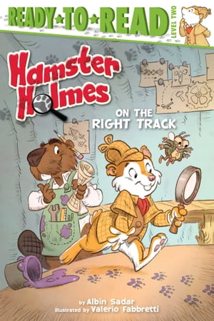 Hamster Holmes,  On the Right Track with audio recording
