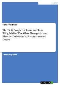 The 'Soft People' of Laura and Tom Wingfield in 'The Glass Menagerie' and Blanche DuBois in 'A Streetcar named Desire'