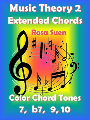 Music Theory 2 - Extended Chords - Color Chord Tones - 7,  b7,  9,  10 Learn Piano With Rosa