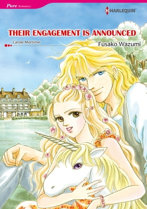 THEIR ENGAGEMENT IS ANNOUNCED (Harlequin Comics)