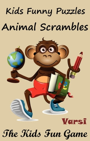 Kids Funny Puzzles Animal Scrambles