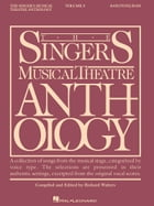 The Singer's Musical Theatre Anthology - Volume 3 Cover Image