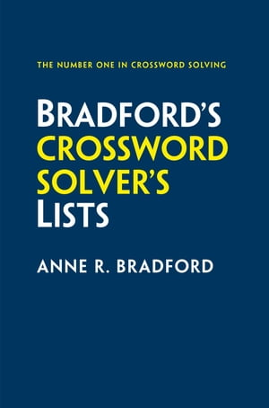 Collins Bradford?s Crossword Solver?s Lists