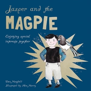 Jasper and the Magpie Enjoying special interests together