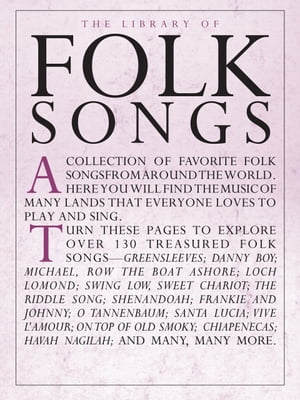 Library of Folk Songs [PVG]