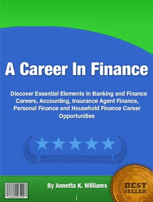 A Career In Finance A Career In Finance