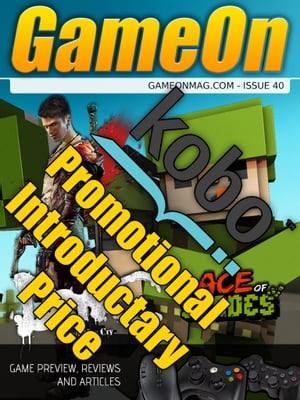 GameOn Magazine Issue 40 (February 2013) Video Games Magazine Covering PC,  XBox,  PS3,  WiiU and handhelds