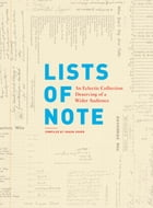 Lists of Note Cover Image