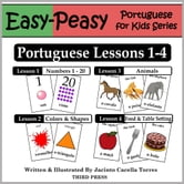 Portuguese Lessons 1-4: Numbers, Colors/Shapes, Animals & Food