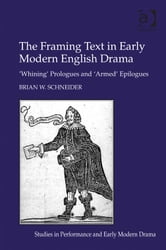 The Framing Text in Early Modern English Drama