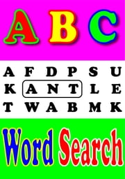 ABC's Book for Kids:word search An Interactive Book Game