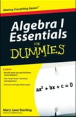 Algebra I For Dummies