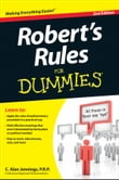 Robert's Rules For Dummies