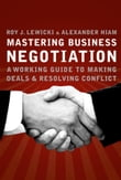 Mastering Business Negotiation