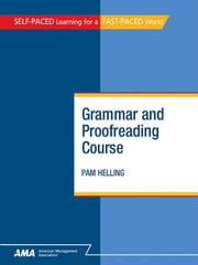 Grammar and Proofreading Course: EBook Edition