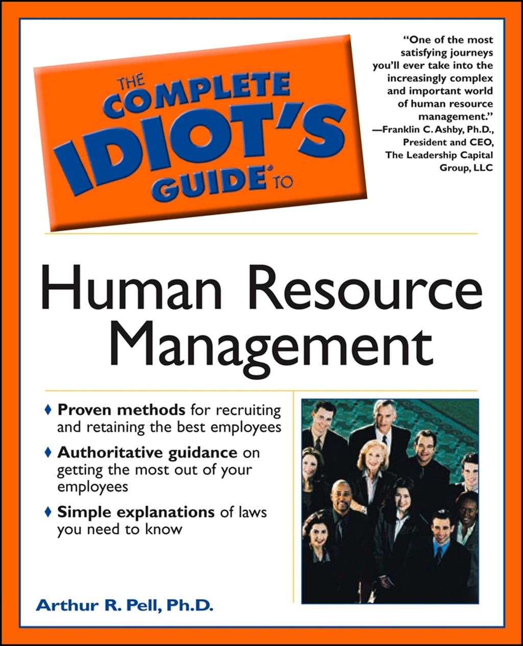 The Complete Idiot's Guide to Human Resource Management 978-1440695667 de Arthur Pell | PDF