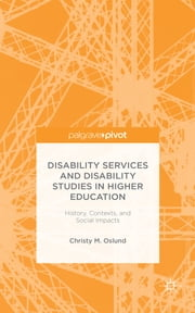 Disability Services and Disability Studies in Higher Education