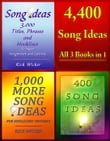 4,400 Song Ideas: All 3 Books in 1