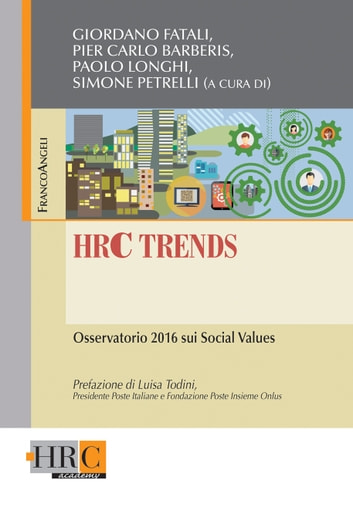 Hrc Trends. - Osservatorio 2016 sui Social Values ebook by AA. VV.