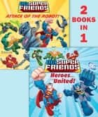 Heroes United!/Attack of the Robot (DC Super Friends) ebook by DC Comics, Dennis R. Shealy