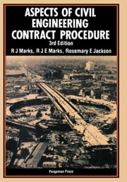 Aspects of Civil Engineering Contract Procedure ebook by Marks, R. J.