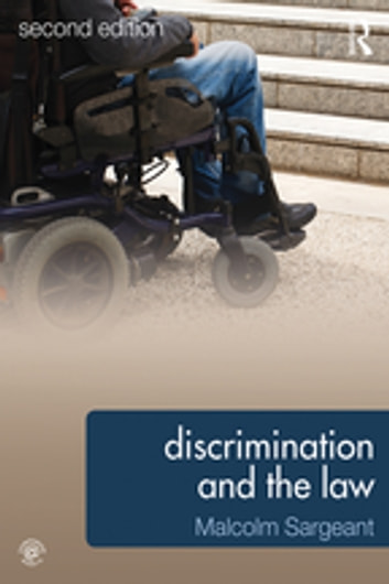 Discrimination and the Law 2e ebook by Malcolm Sargeant