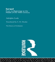 Israel ebook by Adolphe Lods