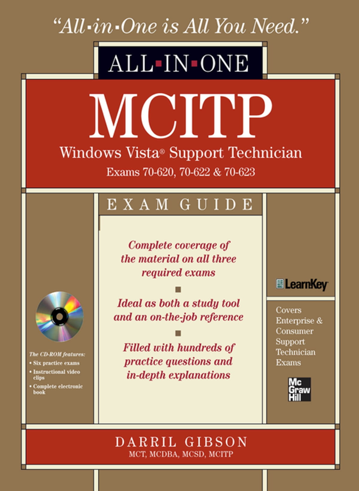 Mcitp Windows Vista Support Technician All In One Exam Guide Exam