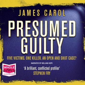Presumed Guilty audiobook by James Carol