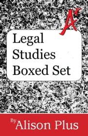 Legal Studies Boxed Set ebook by Alison Plus