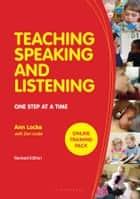 Teaching Speaking and Listening ebook by Ann Locke