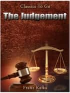 The Judgement ebook by Franz Kafka