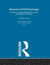 Elem Folk Psyc:Esc V7 ebook by Wilhelm Wundt