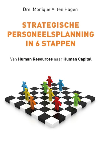 Strategische personeelsplanning in 6 stappen - van human resources naar human capital ebook by Monique A. ten Hagen