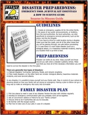 Disaster Preparedness: Emergency Food, Survival Kit Essentials & How to Survive Guide ebook by Eckernwood, Keith