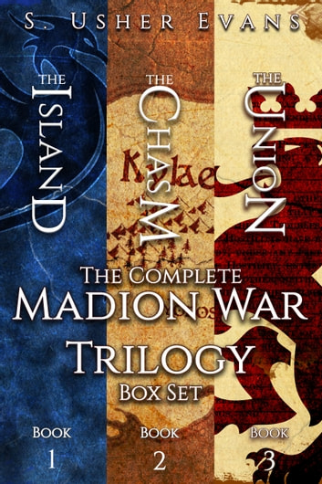 The Complete Madion War Trilogy ebook by S. Usher Evans
