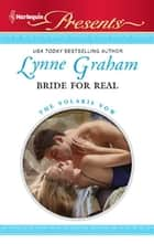Bride for Real ebook by Lynne Graham