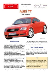 Audi TT Buyers' Guide ebook by Mellor, Chris