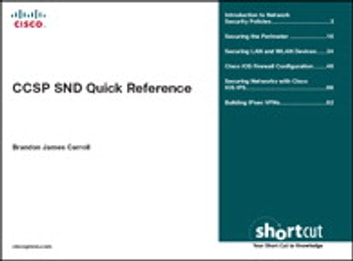 CCSP SND Quick Reference ebook by Brandon Carroll