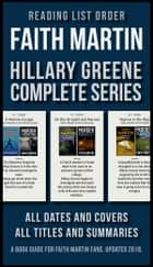 Reading List Order of Faith Martin Hillary Greene Series - [Design Edition] The complete Hillary Greene Reading Order and details of all 17 books (updated 2018) ebook by Mobile Library