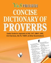 CONCISE DICTIONARY OF PROVERBS (POCKET SIZE) ebook by EDITORIAL BOARD