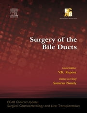 ECAB Surgery of the Bile Ducts ebook by Samiran Nundy