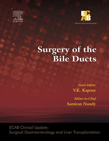 ECAB Surgery of the Bile Ducts - E-Book ebook by