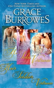 The Windham Series Boxed Set (Volumes 1-3) - The Duke's Obsession Regency Romance Trilogy ebook by Grace Burrowes