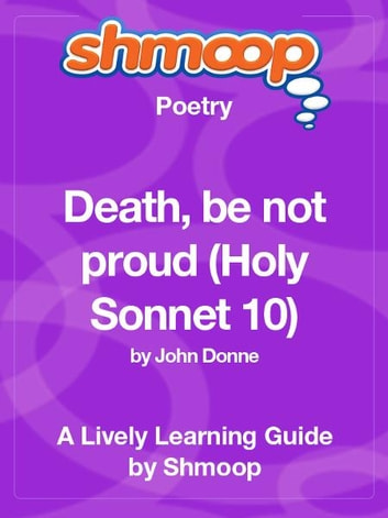 First, read the sonnet: