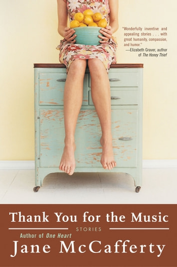 Thank You for the Music - Stories ebook by Jane McCafferty