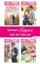 Harlequin Romance July 2017 Box Set - The Mysterious Italian Houseguest\Bound to Her Greek Billionaire\Their Baby Surprise\The Marriage of Inconvenience ebook by Scarlet Wilson, Rebecca Winters, Katrina Cudmore,...