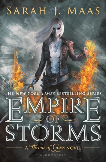 Empire of Storms ebook by Sarah J. Maas