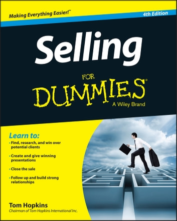 Selling For Dummies 電子書 by Tom Hopkins